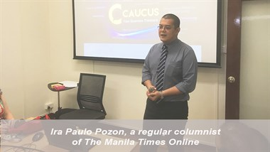Op-ed I Reinventing the Lobbyist I Ira Paulo Pozon, 2018 AsiaGlobal Fellow