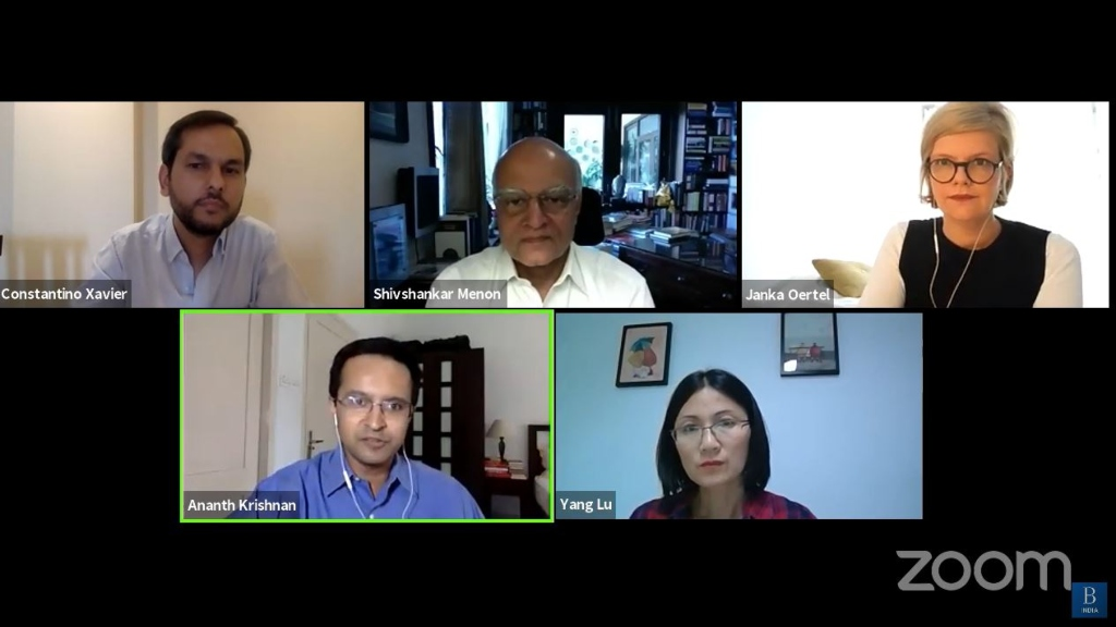 Webinar I Brookings India webinar on China Inc's growing stake in India-China relations I Ananth Krishnan, 2019 AsiaGlobal Fellow