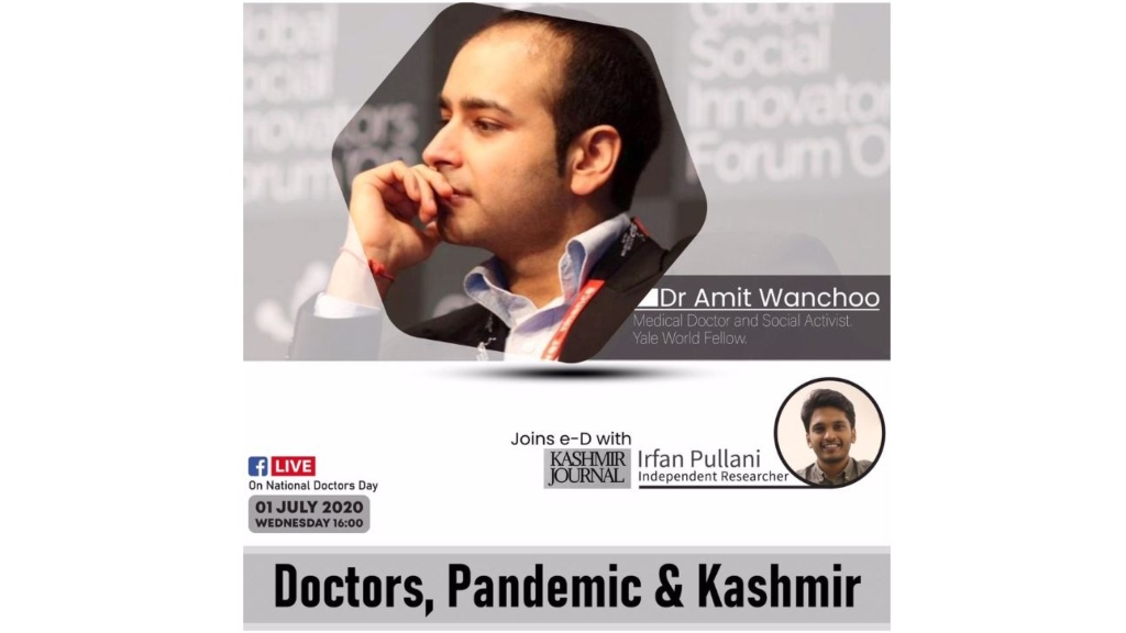 Webinar I Doctors, pandemic and Kashmir I Amit Wanchoo, 2018 AsiaGlobal Fellow