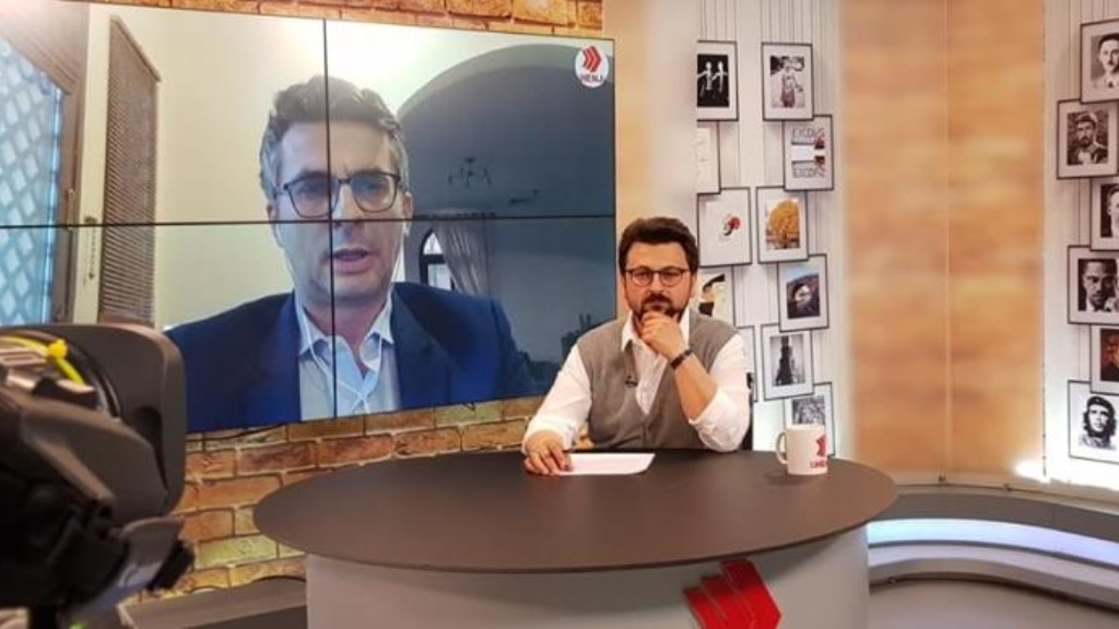 Interview I Tv Shenja discussion on global health and pandemics I Husein Reka, 2019 AsiaGlobal Fellow