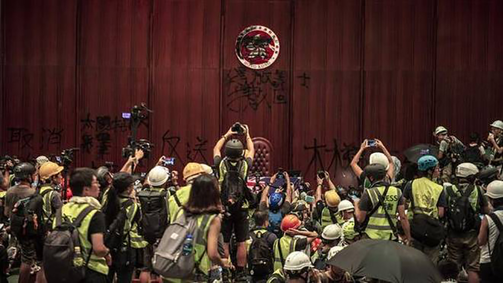 The tale of Hong Kong, a city torn between two systems