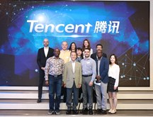 Visit to Tencent