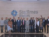 Company visit to StarTimes