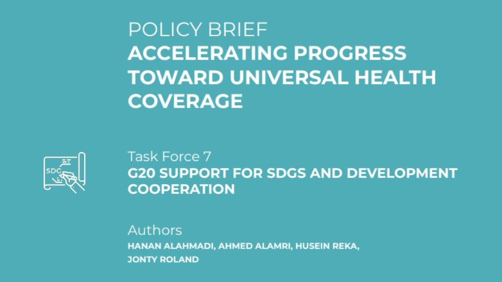 Policy Brief I Accelerating progress toward universal health coverage I Husein Reka, 2019 AsiaGlobal Fellow